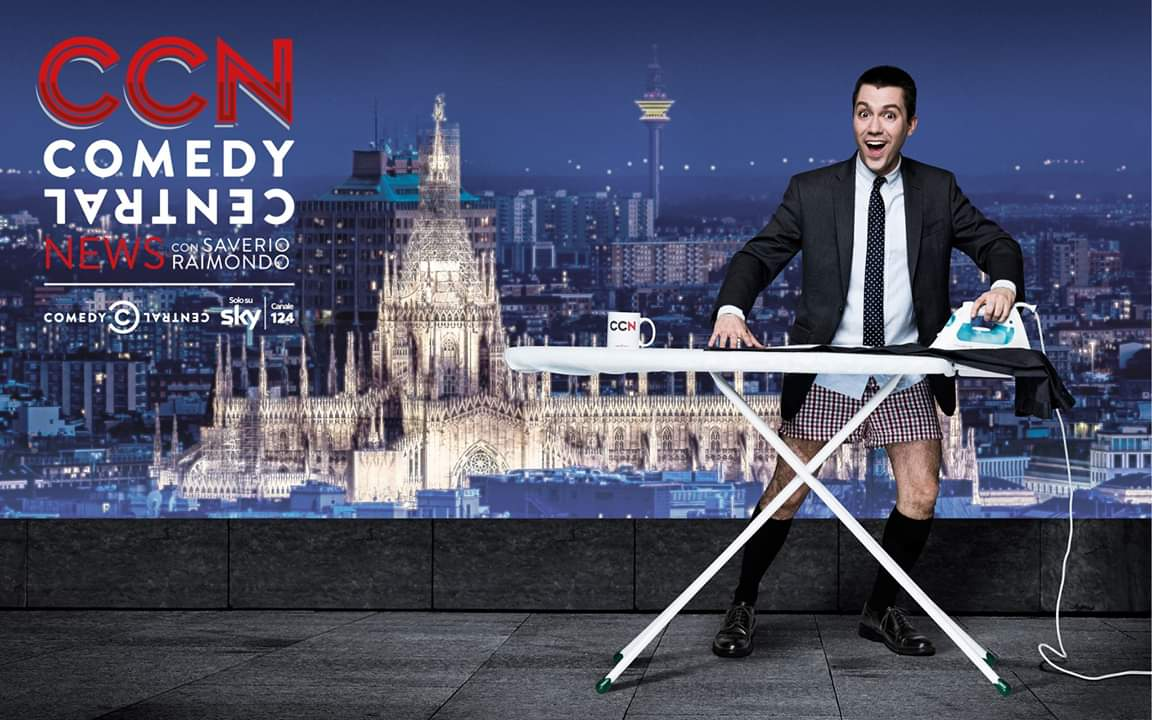 CCN con Saverio Raimondo torna dal 24 maggio su Comedy Central IT Canale 124 di Sky
